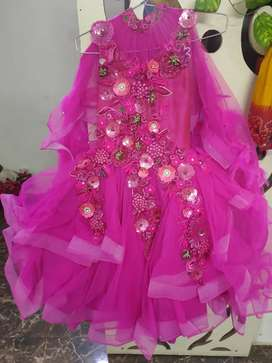 Party wear Gown age 5/8 years