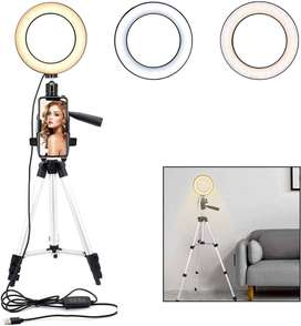 Ring Light Selfie 26cm/10inch + tripod 3110