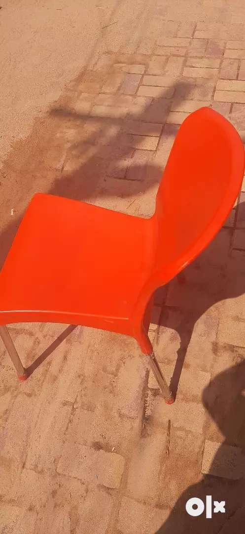 Cello plastic restaurant chairs good condition 0
