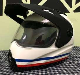 Helm Zeus 2100B (Putih) Custom decal