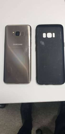 Galaxy S8 with Sealed Galaxy Buds and wireless charger