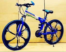 X6 Folding Cycle BM Series 21 Shimano Gears Brand New Hybrid