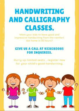 Handwriting and caligraphy classes