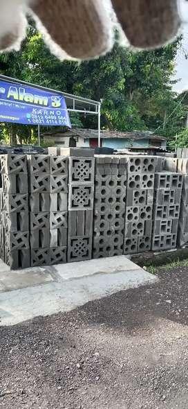 Loster beton dan batu alam