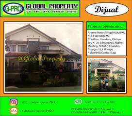 Dijual Home Resort Tengah Kota Pekanbaru Luas Banget