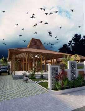 Rumah Baru Sentuhan Klasik Tipe 75 Luas Tanah 220 Hanya 600 Jt-an