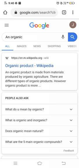 Marketing for organic food products