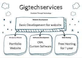 Wordpress website,E-commerce,Website Development,Web Hosting,Portfolio