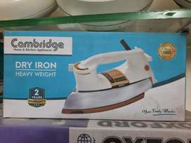 Cambridge iron model 328 warranty 2 years