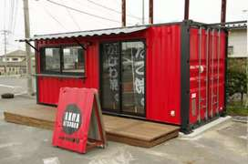 CONTAINER PENGINAPAN/CONTAINER COFFEE SHOP/CONTAINER KEDAI/BOOTH