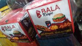 pizza fast food delivery bags water proof avaiable