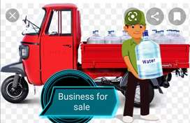Mineral water running business for sale