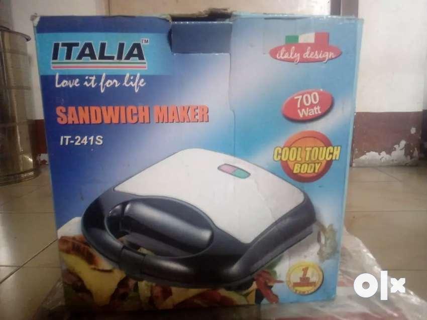ITALIA sandwich maker 0