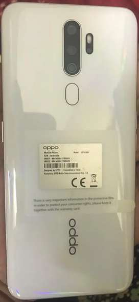 Oppo A5 2020 used only half a year.
