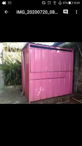 BOOTH CONTAINER/GEROBAK