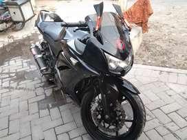 Kawasaki ninja black cobra 2010