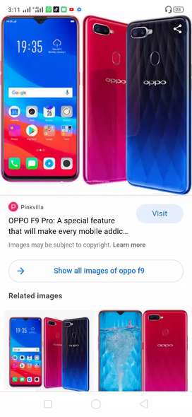 Oppo F9 pro 6 / 64  for sale and exchange