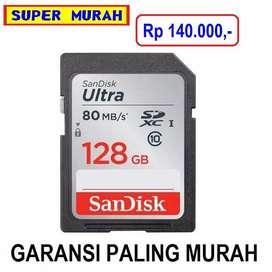 Kartu Memori 128gb Sandisk Bukan 64gb 32gb 16 Gb Sdhc Full Hd KAMERA