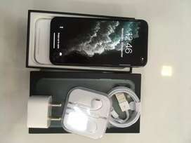 I PHONE 11PRO 64GB MIDNIGHT GREEN COLOUR BRAND NEW WITH WARRANTY