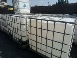IBC 1000 Liters used Tanks for Water & Chemical