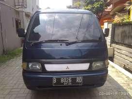 Mitsubishi colt t120ss mb adiputro 2001 biru met ors full kaleng mumer