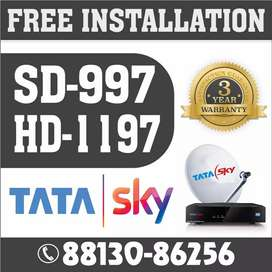 TATA SKY SETUP BOX WITH WARRANTY