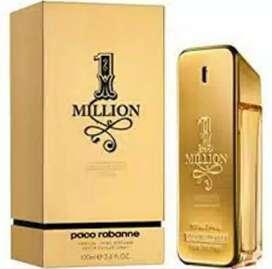 Parfum cowok 1 Million Paco Rabanne. EDT 100 ml