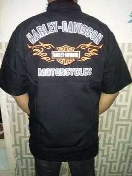 Kemeja oringinal Harley Davidson.
