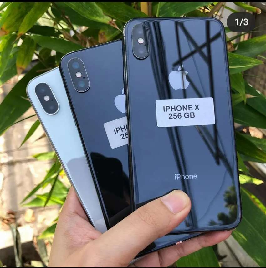 Iphone X 256gb mulus bisa kredit