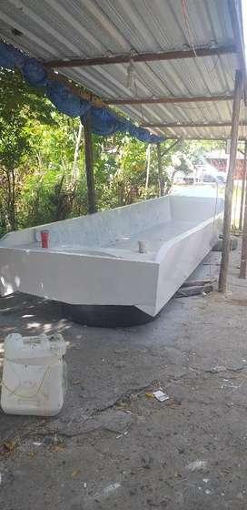 Speed boat fiber glaas