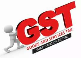 GST Registration & Return Filing, Monthly & Yearly Accounting