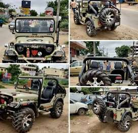 Willy modified new open jeep