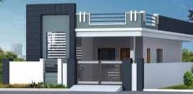 2 bhk ready house with 80% bank loan