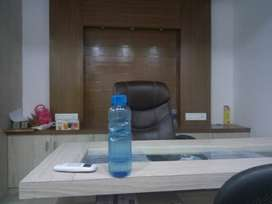 SEMI FURNISHED OFFICE FOR LEASE/RENT AVAILABLE @AKSHAR CHOWK