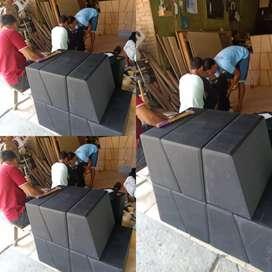 Box wofer bahan mdf