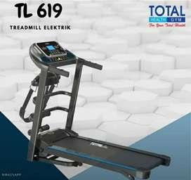 TOTAL Fitness 》TL 619  alat olahraga elektrik treadmill peralatan