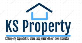 5 Marla Plot for sale in Ghouri town JS Block
