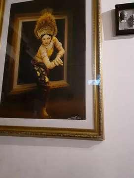Lukisan penari jawa