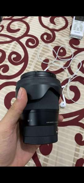 Sigma 16mm 1.4 For Sony