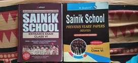 Military schools exam books class6