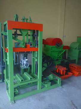 Mesin cetak batako vebrator