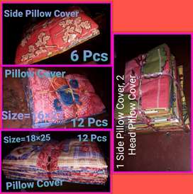 Double Bed Sheet, Pillow Cover, Curtain, Towel, Mask And Cap.