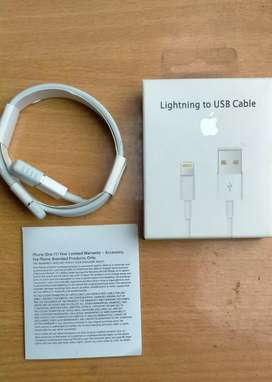 Orignal Apple iPhone Data Cable With WARNTY For iPhone 5 - 6- 7- 8 - X
