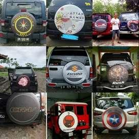 Cover/Sarung Ban Toyota Rush/Terios/Panther/CRV/Feroza 1B  Kartun , Fo