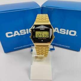 Jam Tangan Casio A159WGD-1DF