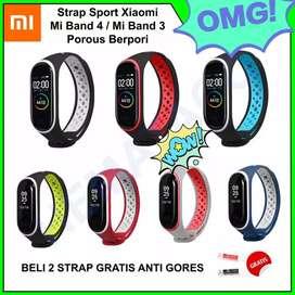PROMO AKHIR TAHUN Strap All varian SmartWatch Jam Mi band 3 4 Nike