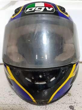 Helm pria merek AGV GP-I size L Air System