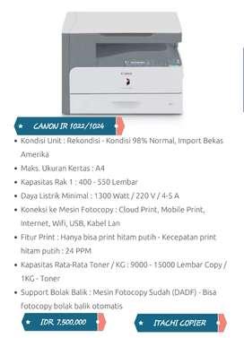 Promo mesin fotocopy recondisi