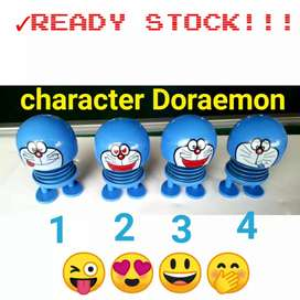 Doraemon spring doll boneka emoticon emoji goyang pajangan dashboard