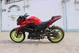 Kawasaki z250 fi merah